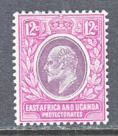 EAST AFRICA AND UGANDA  PROTECTORATES  35  *   Wmk 3 - Protectorados De África Oriental Y Uganda