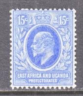 EAST AFRICA AND UGANDA  PROTECTORATES  36  * - Kenya, Uganda & Tanganyika
