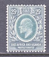 EAST AFRICA AND UGANDA  PROTECTORATES  37  * - Kenya, Uganda & Tanganyika