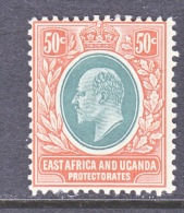 EAST AFRICA AND UGANDA  PROTECTORATES  38  * - Protectorados De África Oriental Y Uganda