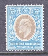 EAST AFRICA AND UGANDA  PROTECTORATES  39  * - Kenya, Uganda & Tanganyika