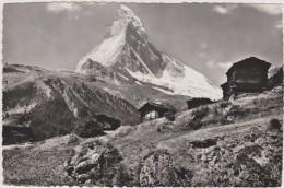 SUISSE,SCHWEIZ,SVIZZERA,S WITZERLAND,HELVETIA,SWISS ,DAS MATTERHORN,chalet,refuge, Montagne - Suisse
