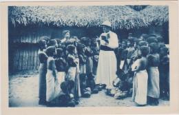 CARTE POSTALE ANCIENNE,COLONIE,ASIE,ASI A,SRI LANKA,CEYLON,CEYLAN,ceyla Nais,mission Humanitaire,éducation Religieuse - Sri Lanka (Ceylon)