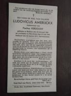 DP Ludovicus AMERIJCKX ( Verdoodt ) Mollem 30 Jan 1860 / Merchtem 10 Jul 1946 ( Details Zie Foto´s ) ! - Godsdienst & Esoterisme