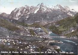 CALALZO DI CADORE PANORAMA CON IL LAGO E M. TUDAIO - Italia
