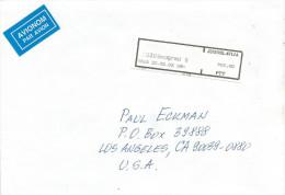 Yugoslavia 2002 Belgrade Post Office Meter Franking Label Cover - 1992-2003 Federale Republiek Joegoslavië