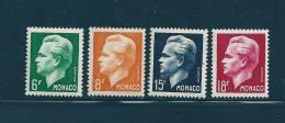 Monaco Timbres De 1951  N°365 A 368  Timbres Neufs ** - Monaco