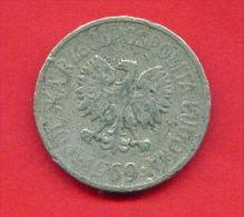 F4318 / - 20 Groszy - 1969 - Poland Pologne Polen Polonia - Coins Munzen Monnaies Monete - Poland