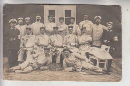 SCHLESIEN - OBERSCHLESIEN, COSEL - SLAWNTZITZ / SLAWIECICE, Reserve-Lazarett, Photo-AK, 1914 - Schlesien