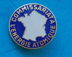 COMMISSARIAT A L`ENERGIE ATOMIQUE - hard enamel - 3,4 cm diameter