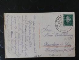 43/734   CP ALLEMAGNE  OBL. - Briefe U. Dokumente