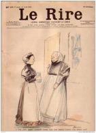 REVUE LE RIRE - AVRIL 1899 -  N° 230 - FIGURES PARISIENNES - MR MOUNET SULLY -  ILLUSTREE PAR FORAIN , CAPPIELLO - Livres, BD, Revues