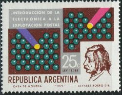 GA0586 Argentina 1971 Einstein And The Relay Switch 1v MNH - Neufs