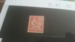 LOT 216821 TIMBRE DE FRANCE NEUF* N�125 VALEUR 12 EUROS