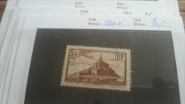 LOT 216829 TIMBRE DE FRANCE NEUF* N�260 VAEUR 25 EUROS