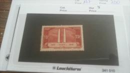 LOT 216842 TIMBRE DE FRANCE NEUF** N�316 VALEUR 35 EUROS  LUXE