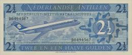 Netherlands Antilles 2.5 Gulden 1970 Pick 21 UNC - Paesi Bassi
