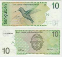 Netherlands Antilles 10 Gulden 1994 Pick 23c UNC - Paesi Bassi