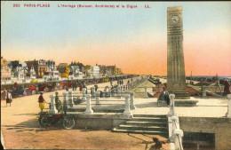 62-561 - PAS DE CALAIS - PARIS-PLAGE - L' Horloge Et La Digue - Le Touquet