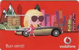 = ROMANIA - VODAFONE SIM CARDS  - VodS 10a  = 15 - Rumänien