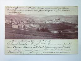 GRUSS  Aus  FRIEDBERG  ,  BÖHMERWALD   1902  (Timbre Autrichien) - Czech Republic