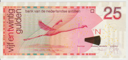 Netherlands Antilles 25 Gulden 2008 Pick 29e UNC - Paesi Bassi