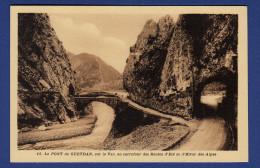 04 SAINT BENOIT Le Pont De Gueydan, Sur Le Var, Au Carrefour Des Routes D´été Et D´hiver Des Alpes - France