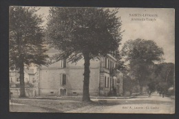 DF / 47 LOT ET GARONNE / SAINTE-LIVRADE / AVENUE DU TEMPLE / CACHET CENSURE CAMP ALLEMAND / CIRCULÉE EN 1917 - Autres Communes