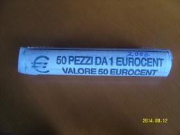 EURO  ROTOLINO DA 1 CENTESIMO ANNO 2002  (ITALIA) - Rotolini