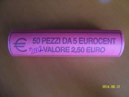 EURO  ROTOLINO DA 5 CENTESIMI ANNO 2002  (ITALIA) - Rotolini