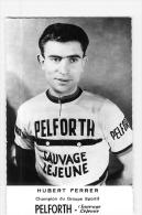 Hubert FERRER - Equipe PELFORTH  - Saison 1964 - 2 Scans - Cyclisme