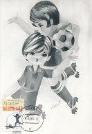 D17986 CARTE MAXIMUM CARD FD 1989 NETHERLANDS - SOCCER CHILDREN CP ORIGINAL - Soccer
