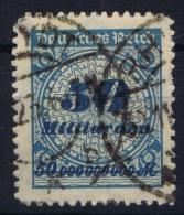 Germany: 1923 Mi. Nr 330 B , Used Cancel Fake