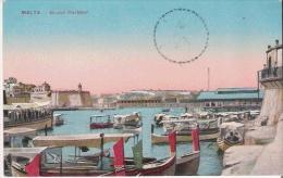 MALTA GRAND HARBOUR 1915 - Malte