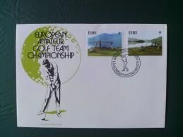 1975 Ireland / Eire - European Amateur Golf Championships (Sport)  - FDC - FDC