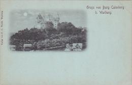 Gruss Von Burg Calenberg B. Warburg , Germany , 1890s - Unclassified