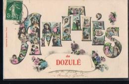 Amitiés De DOZULE . - Francia
