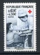 """Timbre** De 2014 Gommé  """"0,61 € + 0.30 € Lettre Verte - Infirmière """" (timbre De 1966 Actualisé) - Ungebraucht"""