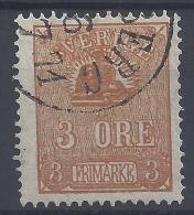 SUEDE -  1862-66  -   N° 12 (II) -  OBLITERE 1er CHOIX - TB - - Suède