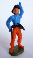 RARE FIGURINE KINDER PIRATE 03 MONTABLE 1980�s