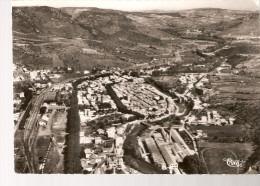 QUILLAN......vue Générale Aérienne Et La Vallée De L´Aude......15 X 10.5 - France