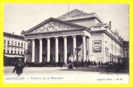 * Brussel - Bruxelles - Brussels * (Lagaert, Brux. Nr 284) Theatre De La Monnaie, Munt Schouwburg, Animée, Cheval, Rare - Brussel (Stad)