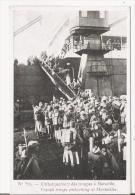 EMBARQUEMENT DES TROUPES A MARSEILLE 570 (POUR CAMPAGNE D'ORIENT 1915 16) - Weltkrieg 1914-18