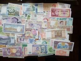 Beau gros lot de 200 billets du monde tous en qualit� neuf ! FDC (non circul�)