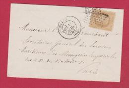 Enveloppe //  Corps Législatif //  Pour Paris //  14 Juillet 1869 - Postmark Collection (Covers)