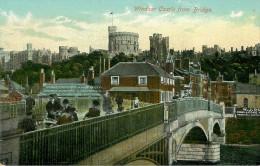 Royaume-Uni - Angleterre - Berkshire - Windsor Castle From Bridge - état - Windsor Castle