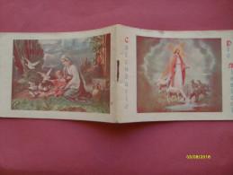 Calendarietto  anno 1936 Suore Domenicane Insegnanti e Infermiere Cong-S.Caterina da Siena Roma