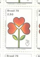 BRESIL BRASIL BRAZIL  YVERT NR. 1373  MNH AÑO 1979 35E CONGRES DE LA SOCIETE BRESILIENNE DE CARDIOLOGIE CHAGAS