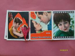 Calendarietto Da Barbiere 1963 Con Cordoncino Pin Up Mondo Celluloide - Calendari