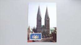 Deutschland BRD 1329 Yt 1161 Sc 1513 Maximumkarte MC, Orts-SST Festwoche, 1200 J. Erhebung Bremens Zum Bischofssitz - [7] Federal Republic